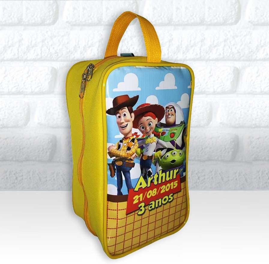 c055157dfe9d0 Bolsinha Personalizada Porta Chuteira Tema Toy Story