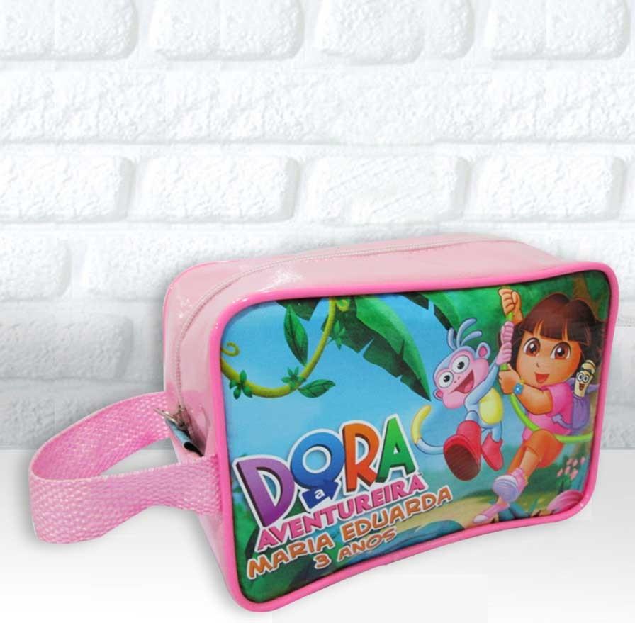 Bolsinha Alça curta Dora Aventureira - Bolsa Ronadany 41f46a3b51a5e