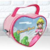 Bolsinha Personalizada Coração Tema Princesa Peach