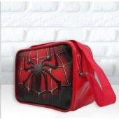 Bolsinha Retangular Tema  do Homem Aranha alça 50 cm - Bolsas Ronadany