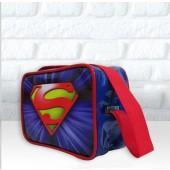 Bolsinha Personalizada Retangular alça 50cm Tema Logo dos Heróis