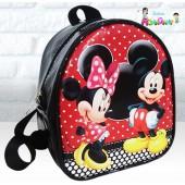 Mochilinha Infantil Mickey e Minnie