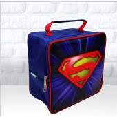 Maletinha quadrada tema logo Super Homem
