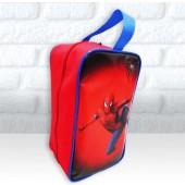 9c4c9c1ed6c4e Bolsinha Personalizada Porta Chuteira Tema Homem Aranha