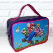 Maletinha Retangular Tema Mario Bros