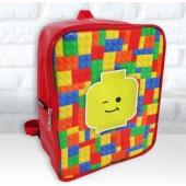Mochila G  personalizada tema Lego