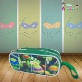 Estojo Personalizado tema Tartarugas Ninjas