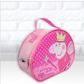 Maleta oval tema Peppa Pig