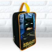 Bolsinha Personalizada Porta Chuteira Tema Batman Lego
