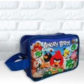 Bolsinha alça Curta tema Angry Birds - Bolsas Ronadany