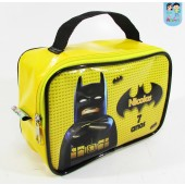 Maletinha Retangular Tema Batman Lego