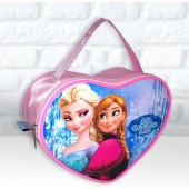 Bolsinha Personalizada Coração Tema Frozen