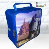 Maletinha Quadrada Tema R2D2 - Star Wars