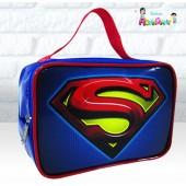 Maletinha Retangular Tema Super Homem
