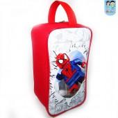 Porta Chuteira Personalizada Tema Homem Aranha lego