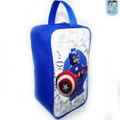Porta Chuteira Personalizada Tema capitão América lego
