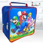 Maletinha Quadrada Tema Mario Bros