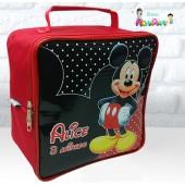 Maletinha Quadrada Tema Mickey