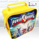 Maletinha Quadrada Tema Power Rangers