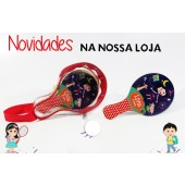 Bolsinha + Raquete
