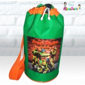 Mochilinha Esportiva tema Tartarugas Ninjas