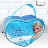 Bolsa Coração tema Frozen