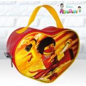 Bolsa Coração tema Ninjago